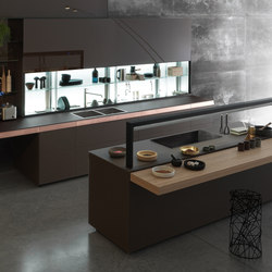 Genius Loci | with copper drawer | Fitted kitchens | Valcucine