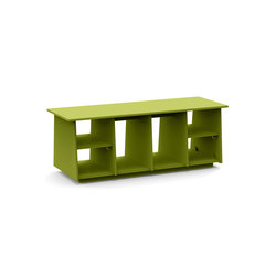 Cubby 46 + boot holes | Bancs de jardin | Loll Designs
