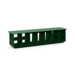 Cubby 72 + boot holes | Bancs de jardin | Loll Designs
