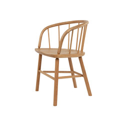 Hardy Chair - Oak / Natural | Chaises de restaurant | Another Country