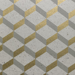 Printed Cork 3D Square - LUX24 | Wall coverings | NOBILIS