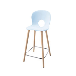 Olivia Wood XL | Bar stools | Rexite