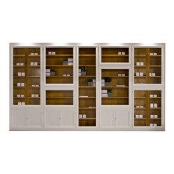 Maschera modular bookcase | Library shelving systems | Morelato