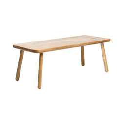 Coffee Table Rectangular - Oak/Natural | Tables basses | Another Country