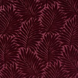 Velours Palmes 10594_52 | Vorhangstoffe | NOBILIS