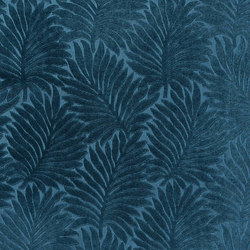 Velours Palmes 10594_70 | Curtain fabrics | NOBILIS