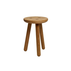 Stool One - Oak/Natural | Hocker | Another Country