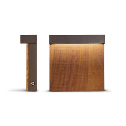 Look Wood Minilook paletto H 220 mm emisisone singola | Lampade LED | Simes