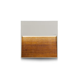 Skill Wood square | Outdoor wall lights | Simes