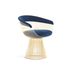 Platner Side Chair Gold | Chairs | Knoll International