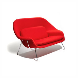 Saarinen Womb Settee | Fauteuils d'attente | Knoll International
