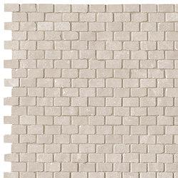 Maku Grey Brick Mosaico | Ceramic mosaics | Fap Ceramiche