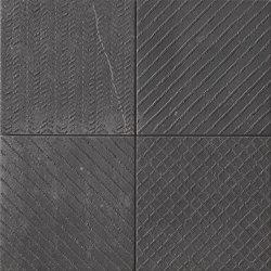 Maku Trace Dark Inserto Mix 6 | Carrelage pour sol | Fap Ceramiche