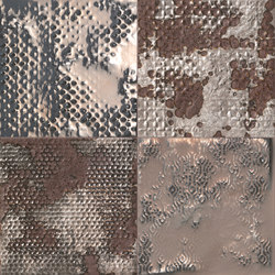 Maku Grid Metal Inserto Mix 6 | Ceramic tiles | Fap Ceramiche