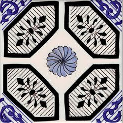 LR PO Tavolette con rosa | Floor tiles | La Riggiola