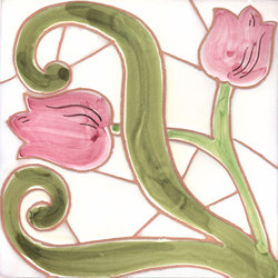 LR PO Tulipano rilievo | Ceramic tiles | La Riggiola