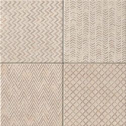 Maku Trace Sand Inserto Mix 6 | Ceramic tiles | Fap Ceramiche