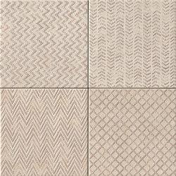 Maku Trace Sand Inserto Mix 6 | Bodenfliesen | Fap Ceramiche