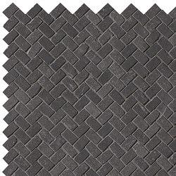 Maku Dark Gres Mosaico Spina Matt | Ceramic mosaics | Fap Ceramiche