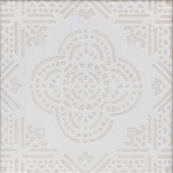 Madras Fondo bianco decoro beige | Ceramic tiles | La Riggiola