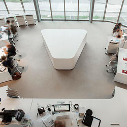 Sitag customized Newsdesk | Meeting room tables | Sitag