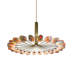 Candy | Ring Chandelier | Suspensions | LASVIT