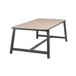 Dining Table Three - Beech/Grey Lacquered | Dining tables | Another Country