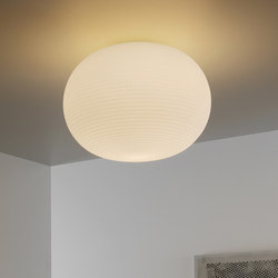 Bianca Wall and ceiling lamp Large | General lighting | FontanaArte