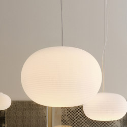 Bianca Suspension lamp Large | General lighting | FontanaArte