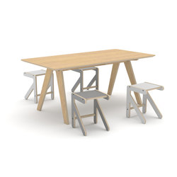 Dialogue table | Mesas para restaurantes | KLOSS