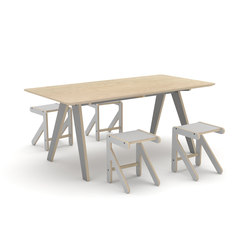 Dialogue table | Tables de restaurant | KLOSS