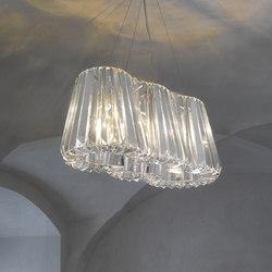 Glitters | Pendant 3 | Suspended lights | LASVIT