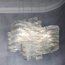 Plisse Cloud | Large | Suspended lights | LASVIT