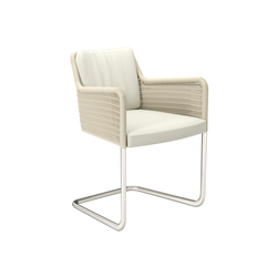 D43 Cantilever chair with armrests | Chairs | TECTA