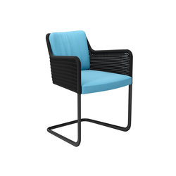 D43 Cantilever chair with armrests | Sedie visitatori | TECTA