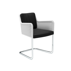 D43 Cantilever chair with armrests | Chaises | TECTA
