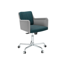 D43R Task chair with rolls | Sillas | TECTA