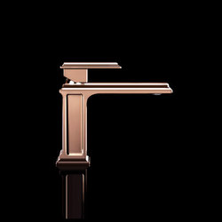 Gessi Fascino Single-Handle Copper Faucet | Wash-basin taps | Gessi USA