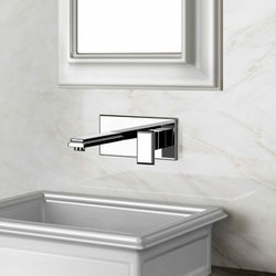 Gessi Fascino Wall-Mount Faucet | Wash-basin taps | Gessi USA