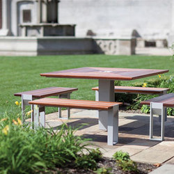 Apex Family | Tables et bancs de jardin | Forms+Surfaces®