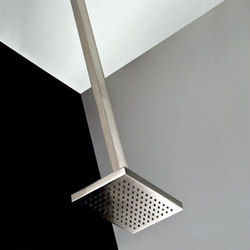 Gessi Rettangolo Ceiling-Mount Showerhead | Shower taps / mixers | Gessi USA