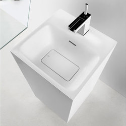 Gessi Rettangolo Pedestal Sink | Wash basins | Gessi USA
