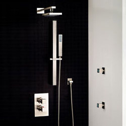 Gessi Rettangolo Shower | Shower taps / mixers | Gessi USA