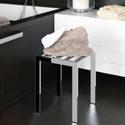 Gessi Rettangolo Stool | Stools / Benches | Gessi USA