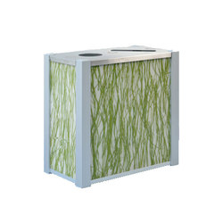 Audubon Recycling and Trash Receptacles | Cubos de basura / papeleras | DeepStream Designs