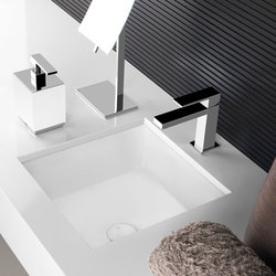 Gessi Rettangolo Undermount Sink | Wash basins | Gessi USA