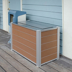 Audubon Recycling and Trash Receptacles | Waste baskets | DeepStream Designs