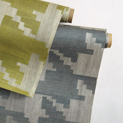 The Premiere Collection - Faux Bois Houndstooth | Tejidos murales | Designtex
