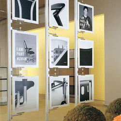 Retail Systems: Signage and Graphic Systems | Display stands | B+N Industries