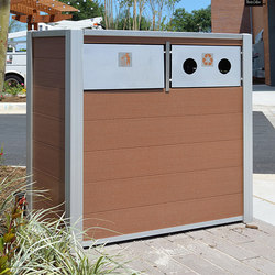 Oahu Trash and Recycling Bins | Cubos de basura / papeleras | DeepStream Designs